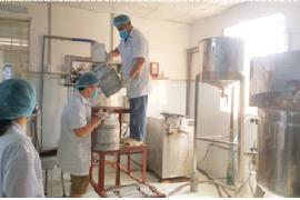 Chăn nuôi bò sữa kết hợp chế biến  sản phẩm từ sữa của Anh Trương Văn Thuận,  Xã Đông Thạnh, Huyện Hóc Môn