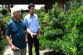 Ông Trịnh Minh Tân - Lão nông trồng cây kiểng trên vùng đất thép Củ Chi