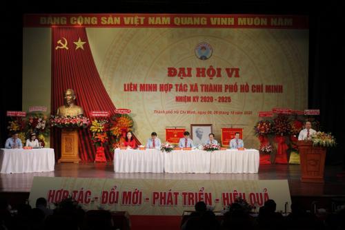 Đại hội Liên minh Hợp tác xã Thành phố Hồ Chí Minh  lần thứ VI nhiệm kỳ 2020-2025