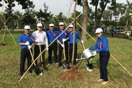 Tết trồng cây đời đời nhớ ơn Bác Hồ năm 2018