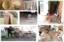 Làng nghề đan đát Thái Mỹ