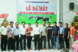 Hợp tác xã Nông nghiệp - Thương mại - Dịch vụ Bò sữa Đông Thạnh