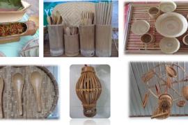 Sản phẩm thủ công mỹ nghệ mây tre đan tại Huyện Củ Chi