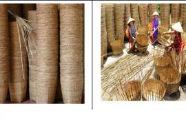 Làng nghề đan giỏ trạt Xuân Thới Sơn